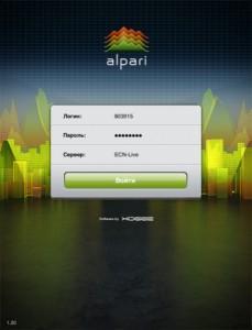 Мобильный терминал ITrader для ipad