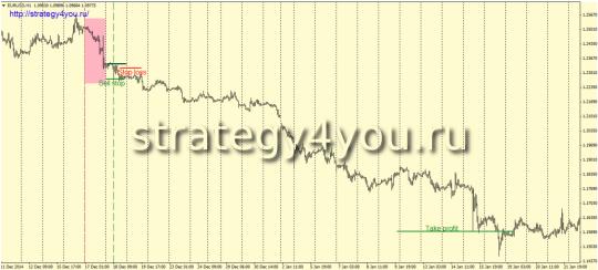 """Пример слелки, стратегия """"инвестор"""""""