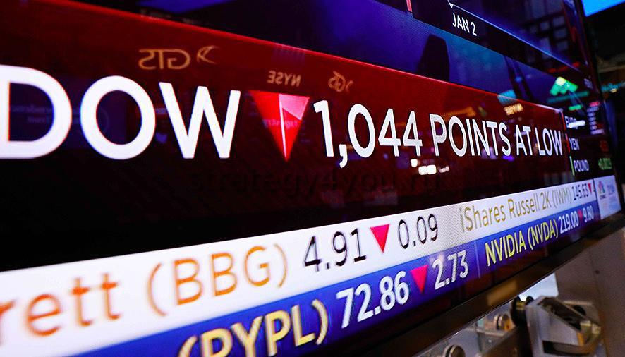 американские биржевые индексы