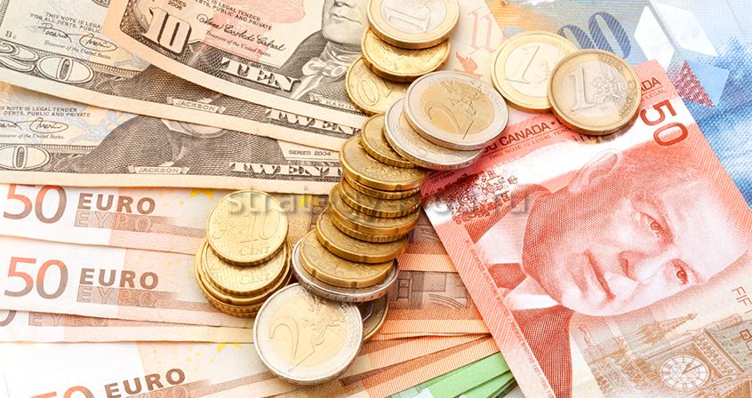 торговля евро и долларом