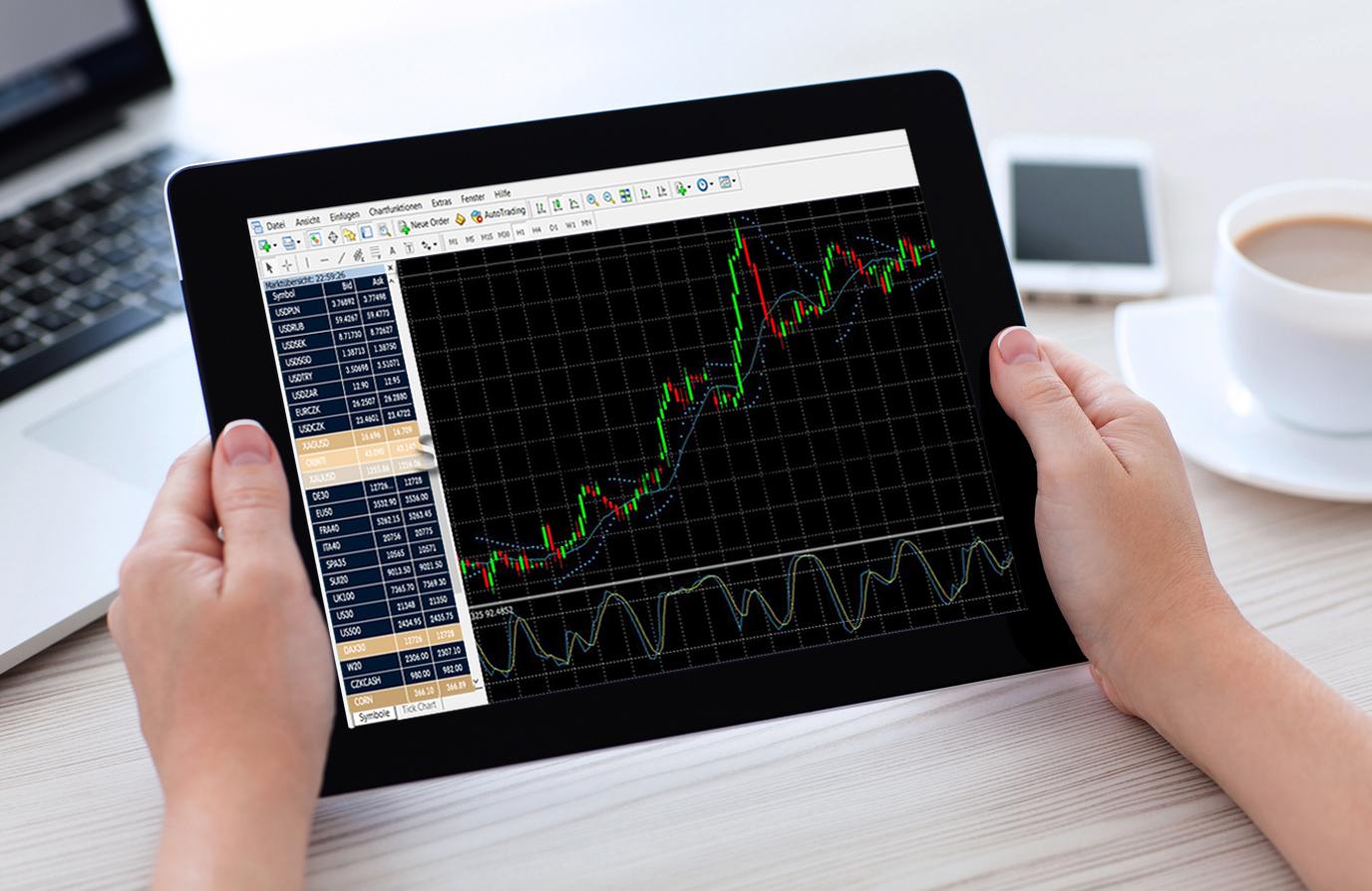 торговля форекс на планшете