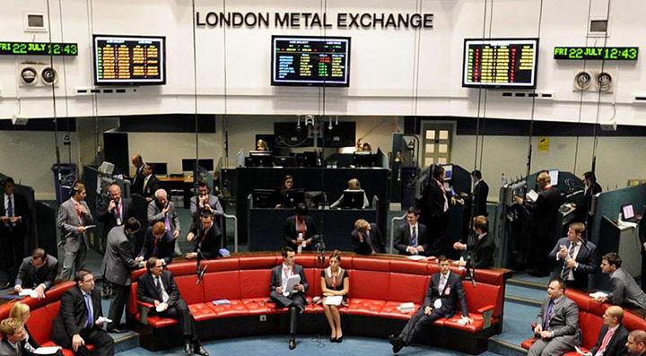 участники торговли на лондонской бирже цветных металлов