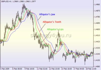 элементы торговой системы аллигатор