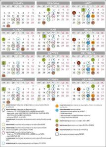 календарь экспирации на 2019