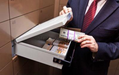 банковский депозит ячейка