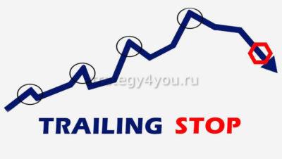 применение трейлинг стопа в трейдинге