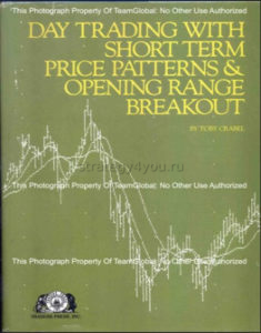 Day Trading with Short Term Price Patterns & Opening Range Breakout