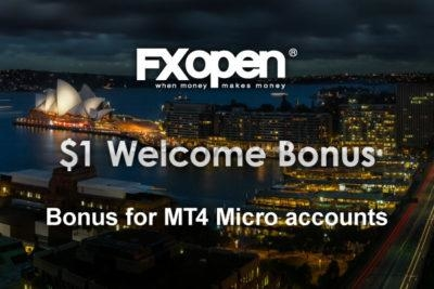 Welcome Bonus 1$