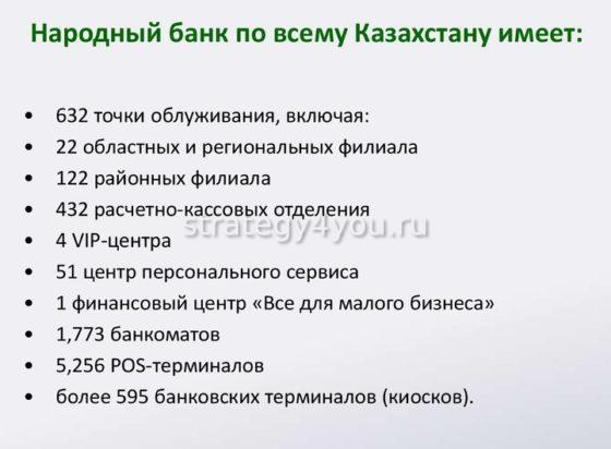 Преимущества Народного банка Казахстана
