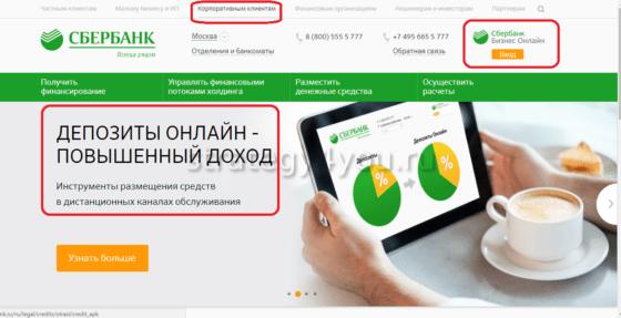 Сбербанк бизнес онлайн для юрлиц