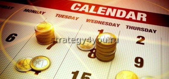 календарь экономически событий