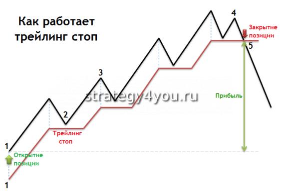 Что обозначает трейллинг-стоп в форексе сам себе инвестор forex