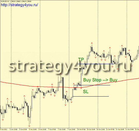 Forex Strategy Break-fractal