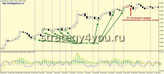 Стратегия форекс Trend/ENTRY