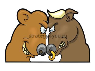 равновесие быков и медведей на форекс